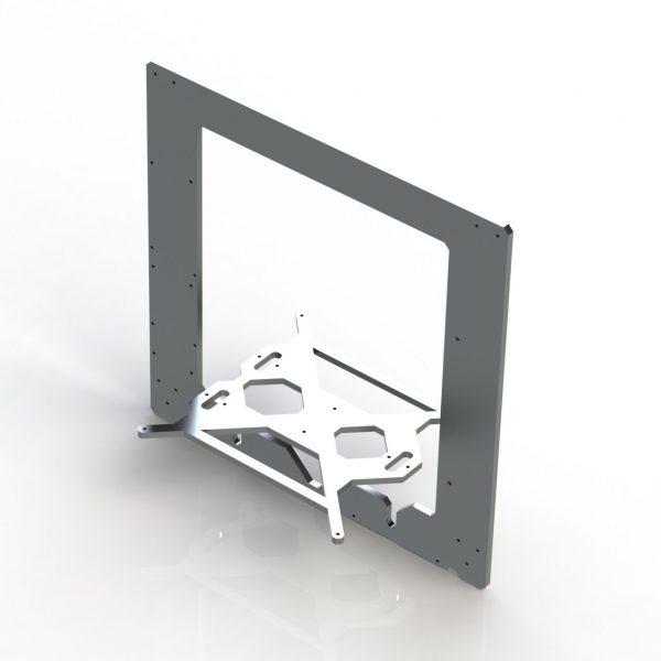Estrutura Prusa i3 em Alumínio